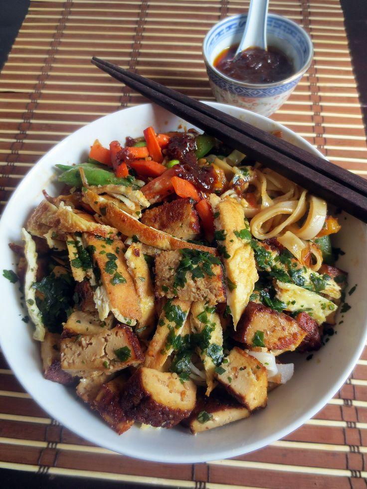 Pad Thaï au Tofu Fumé