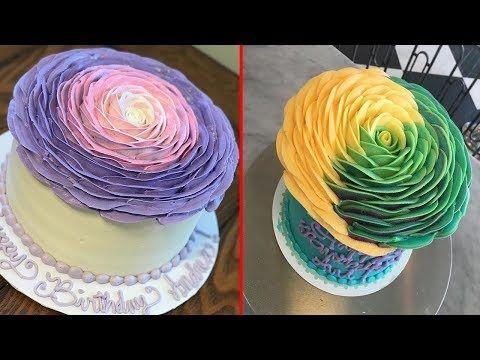 Amazing Cakes Decorating Techniques 2017 Most Satisfying Cake Style Video #CakeDecorating #133 - YouTube