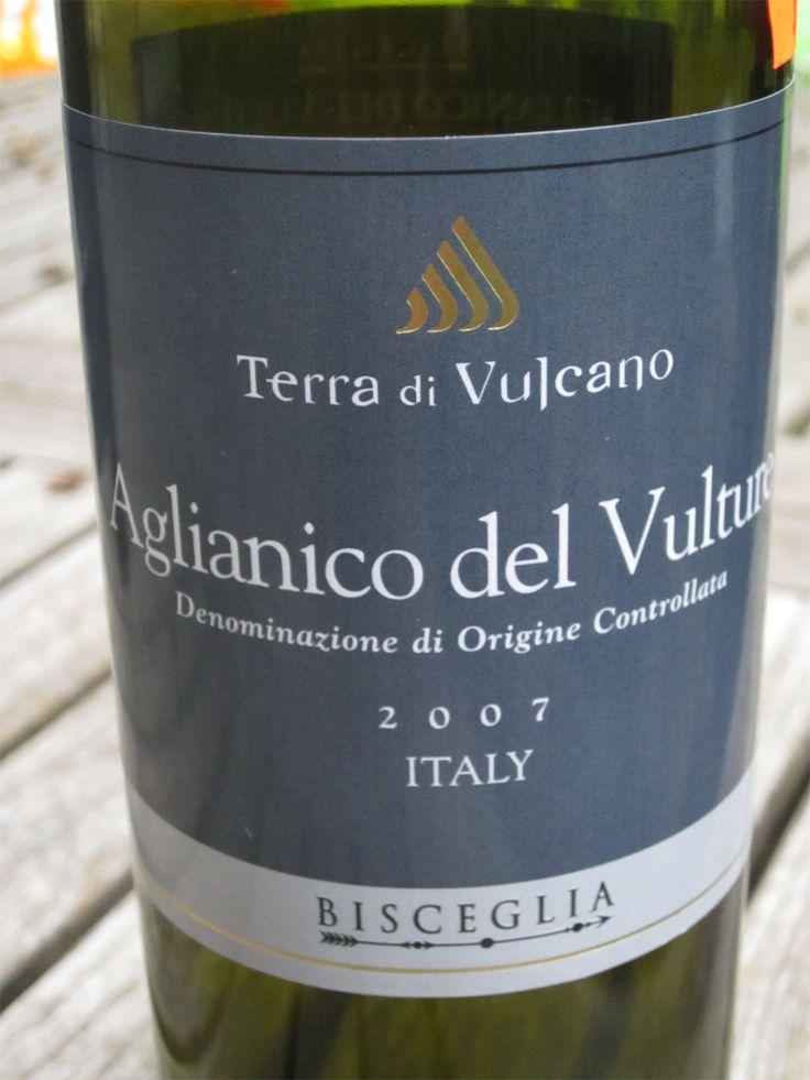 A great Aglianico:  Bisceglia, Terre di Vulcano, DdOC