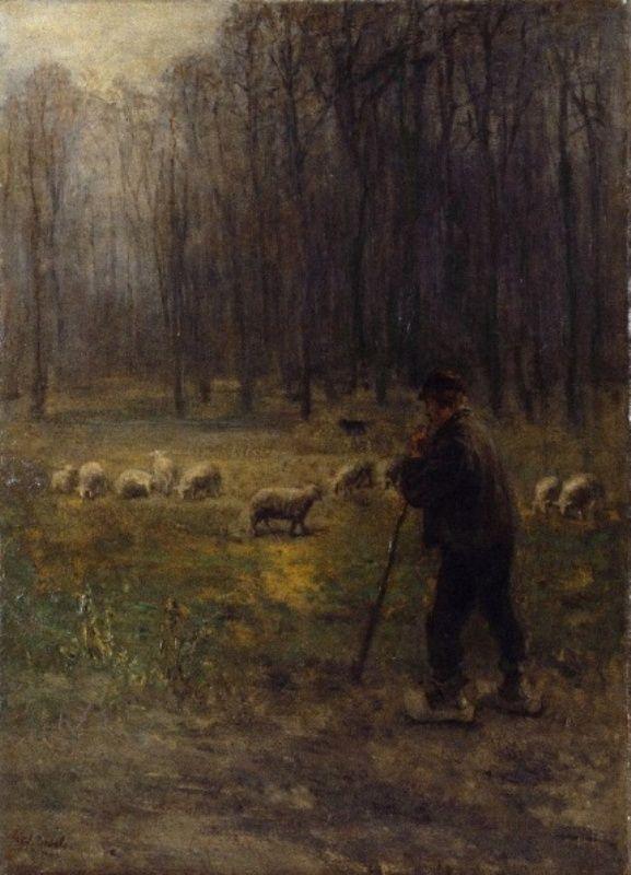 Jozef Israëls - De schaapherder