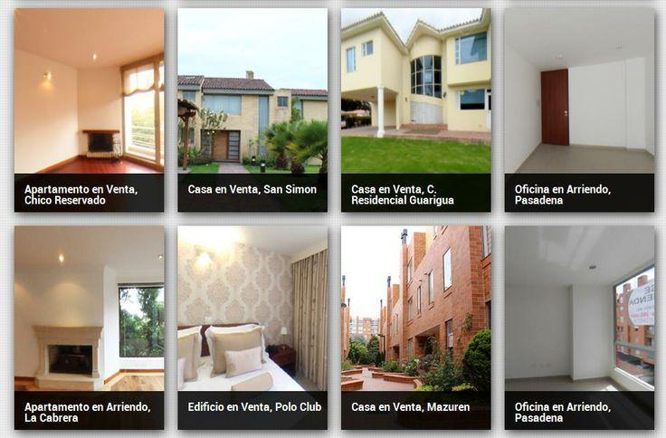 #Casas e #inmuebles en arriendo en #Colombia