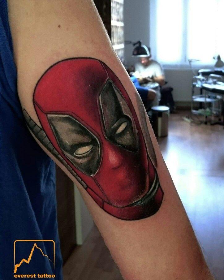 Deadpool #marvel #comics @davidtheherotattoo