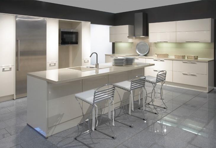 Küche in Creme von Nobilia / Kitchen in beige by Nobilia