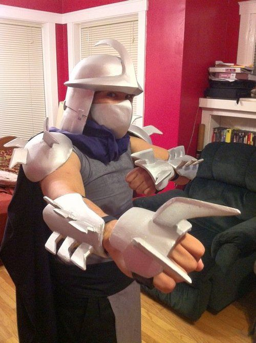 """Spicy Panda Creations - How to make a """"Shredder"""" costume"""