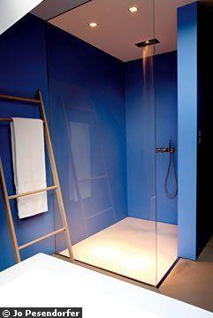 les 16 meilleures images du tableau douche de plain pied sur pinterest douches pieds et salle. Black Bedroom Furniture Sets. Home Design Ideas