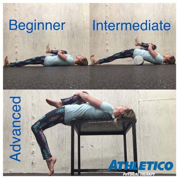 Athletico Physical therapy psoas stretch of the week