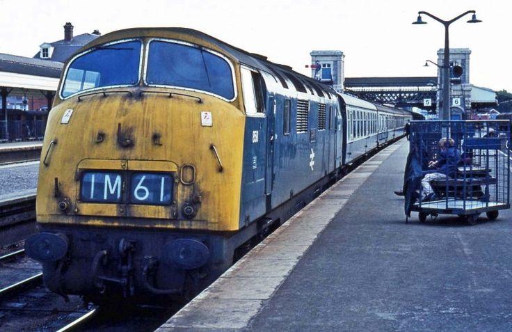 Railway Herald :: Imaging Centre :: 858 at Exeter St Davids