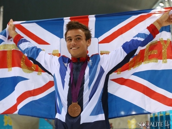 Tom Olympics England 2010 Daley