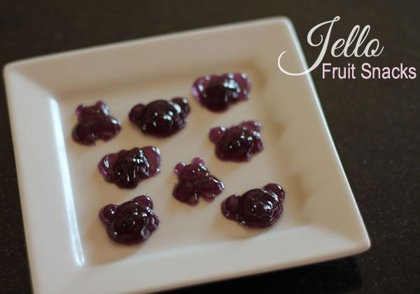Homemade Jello Fruit Snacks Recipe » Tales From the Nursery