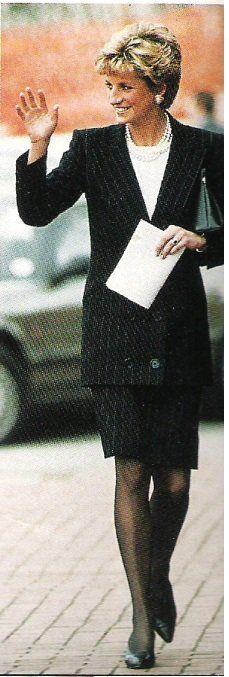 Activités de Diana du mois d' avril 1993 _ Suite