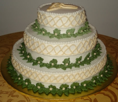 Wedding Cake Ideas Celtic Not Fondent