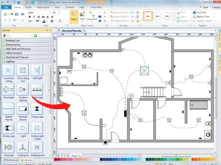 How to make a clear and organized home wiring plan? Try