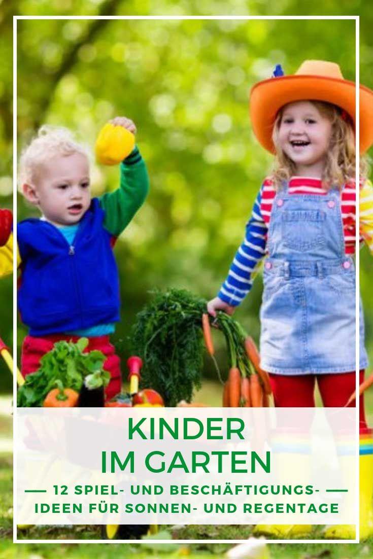 Kinder Im Garten So Begeistern Sie Die Kleinen Furs Grune Kinder Garten Spielgerate Fur Den Garten Garten Planen