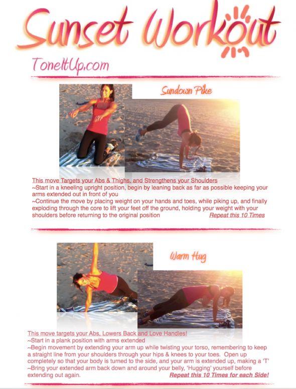 TIU Sunset Workout-full body