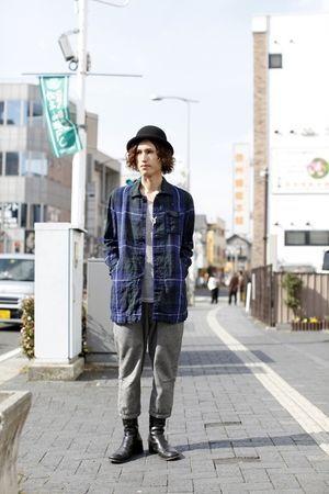 チェック柄 秋冬のファッション アイテム メンズショップコート コーデを集めました。