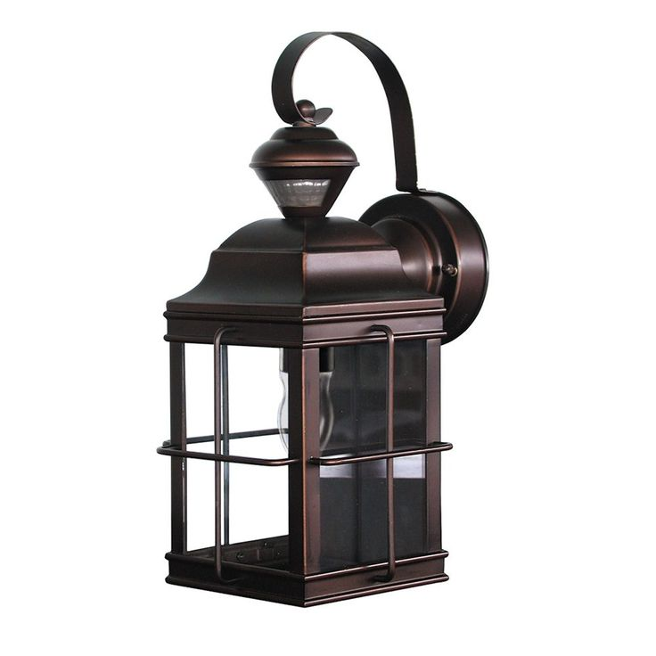 Heath Zenith SL 4144 Motion Activated New England Carriage Signature  Decorative Outdoor Sconce95 best Outside lights images on Pinterest   Outdoor walls  Wall  . Motion Activated Outdoor Wall Light With Photocell Sensor. Home Design Ideas