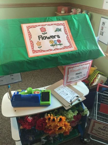 15+ ways to transform a Melissa & Doug Grocery Store for Pretend Play *Add some fake flowers and let kids' imaginations run wild. So fun!