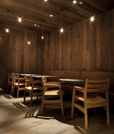 Burger Restaurant, Bluewater Shopping Centre, Kent, Henley Oak Reclaimed