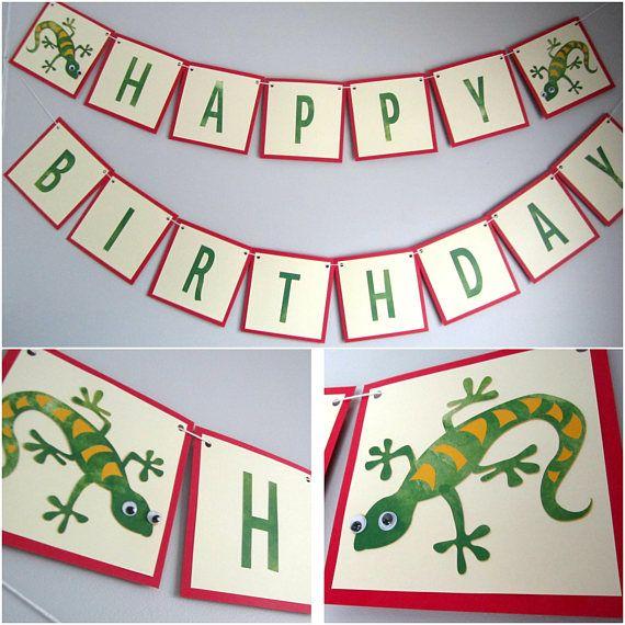 9 Best Lizard Birthday Images On Pinterest