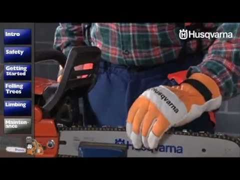 How To Maintain Your Husqvarna Chainsaw - Cleaning & Sharpening - YouTube