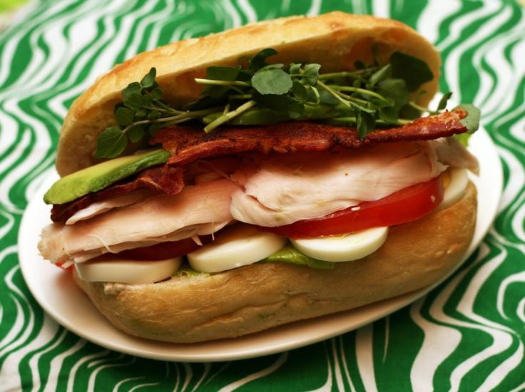 ... Lime, a recipe blog by Rachel Rappaport: Turkey Cobb Salad Sandwich