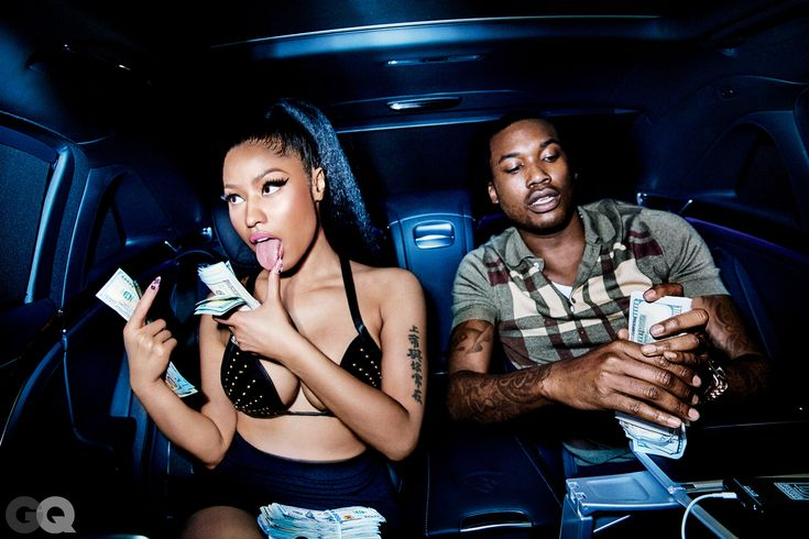 Here's Nicki Minaj and Meek Mill's Sexy GQ Photo Shoot | GQ