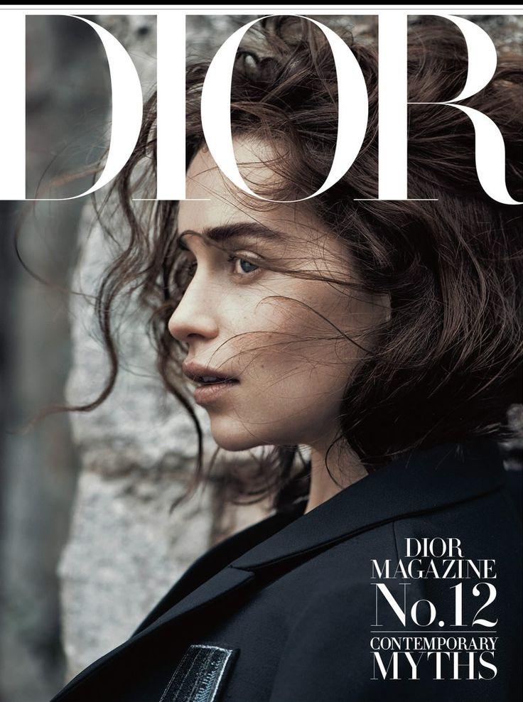 Emilia Clarke por Lachlan Bailey para Dior Revista Invierno 2015