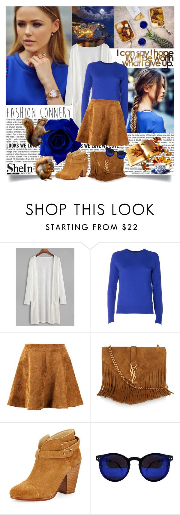 Squirrel love! by reka97 on Polyvore featuring Equipment, rag & bone, Yves Saint Laurent, Wedgwood and Bailey