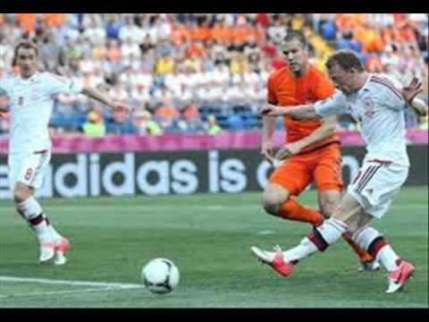 Euro 2012 - Netherlands vs Denmark Hot Photos