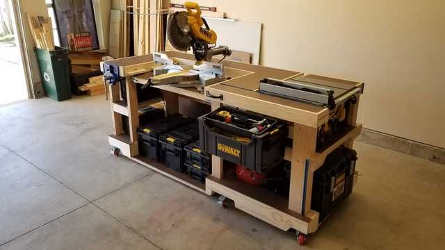 Design Edit More Detailed Plans Instructions Can Be Found Here Https Imgur Com Gallery Bg4gqc3 Most In 2020 Workbench Woodworking Bench Plans Workbench Plans Diy