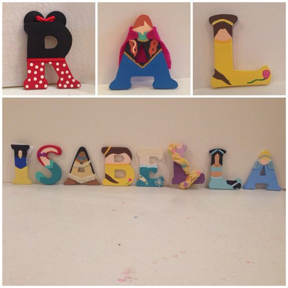 disney princess letters 43 best crafts done images on wood letters 351