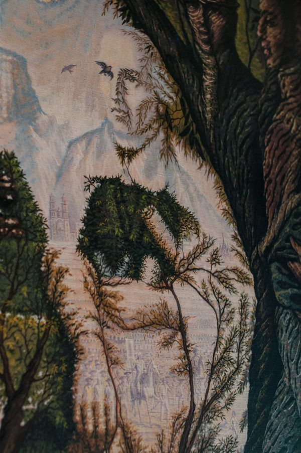 Les 144 meilleures images du tableau octavio ocampo sur for Illusion d optique peinture