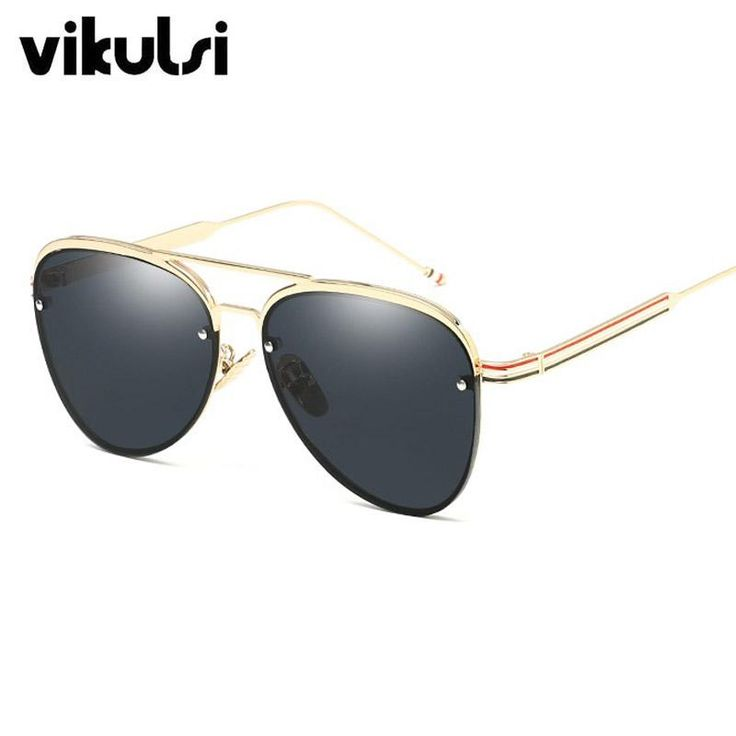 New Vintage Gothic Steam Punk Round Clear Pink Sunglasses Women/Men For Female Brand Designer Glasses Frame Eyewear