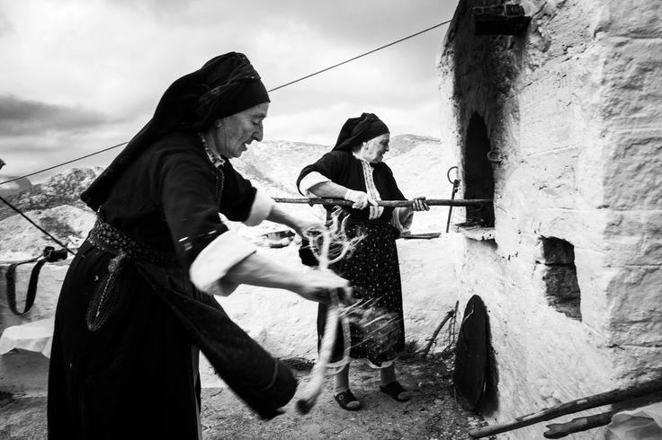 Byzantine Easter in OlymposGreece. South Aegean. Olympos. © George Tatakis