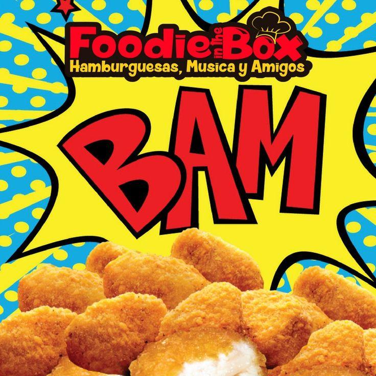 #FoodieInTheBox Deliciosos nuggets de pollo. Pruebalos http://foodieinthebox.com/