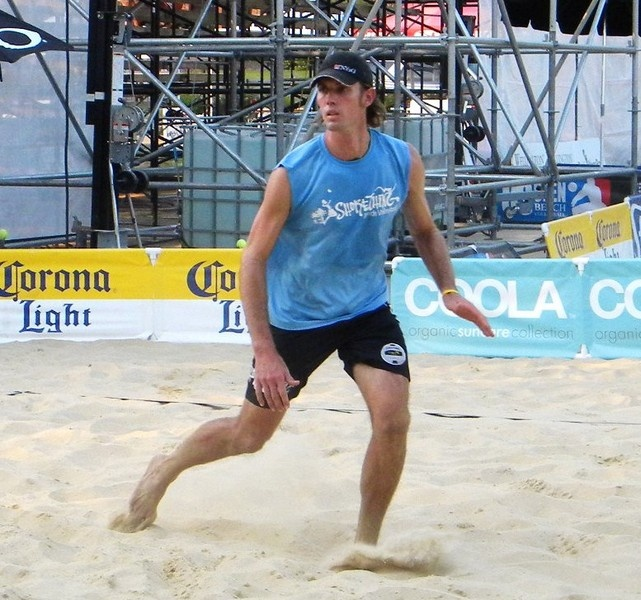 American tour pro Steve Grotowski  selected to compete on Great Britain's beach volleyball team at London Olympics!  (article)