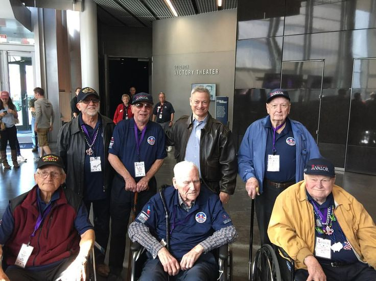 "949 Likes, 11 Comments - Gary Sinise Foundation (@garysinisefoundation) on Instagram: ""Group photo with some of our WWII veterans and Gary. 🇺🇸 #SoaringValor #garysinisefoundation…"""