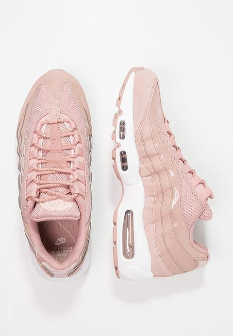 03ef7543c7 Nike Sportswear AIR MAX 95 - Trainers - particle pink white siltstone red  for £119.99 (23 11 17) with free delivery at Zalando