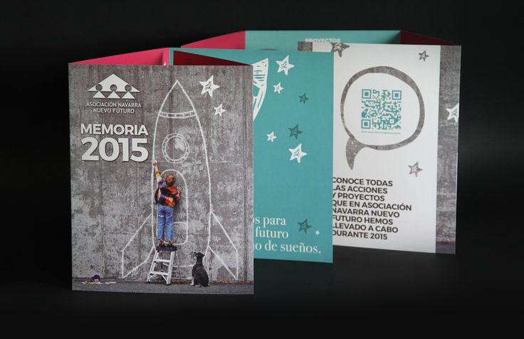 Memoria de actividades Asociación Navarra Nuevo futuro 2015