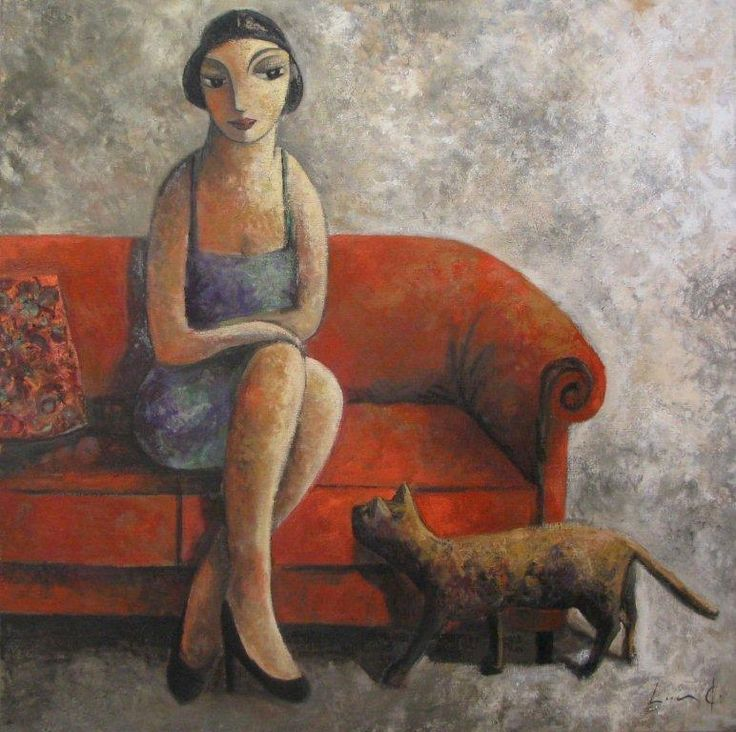 "Didier Lourenco - ""Mischievous Cat"", 2012"