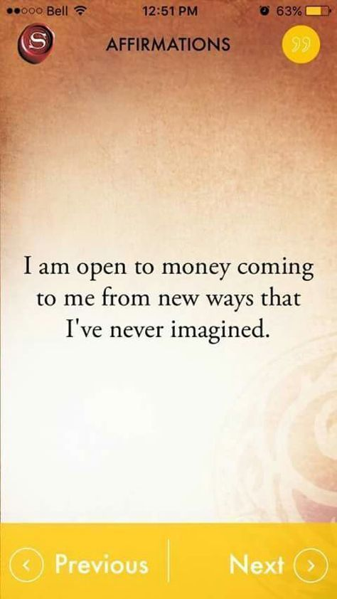 I'm going to keep repeating this!!!! And the positive affirmations for my business to take flight.