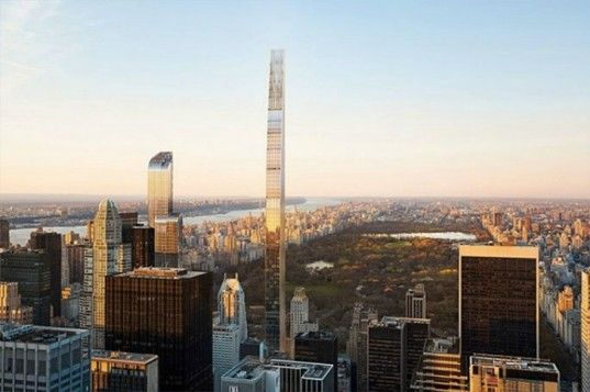 Take a look inside the swanky interior of NYC's pencil-thin 111 West 57th Street tower   Inhabitat New York City