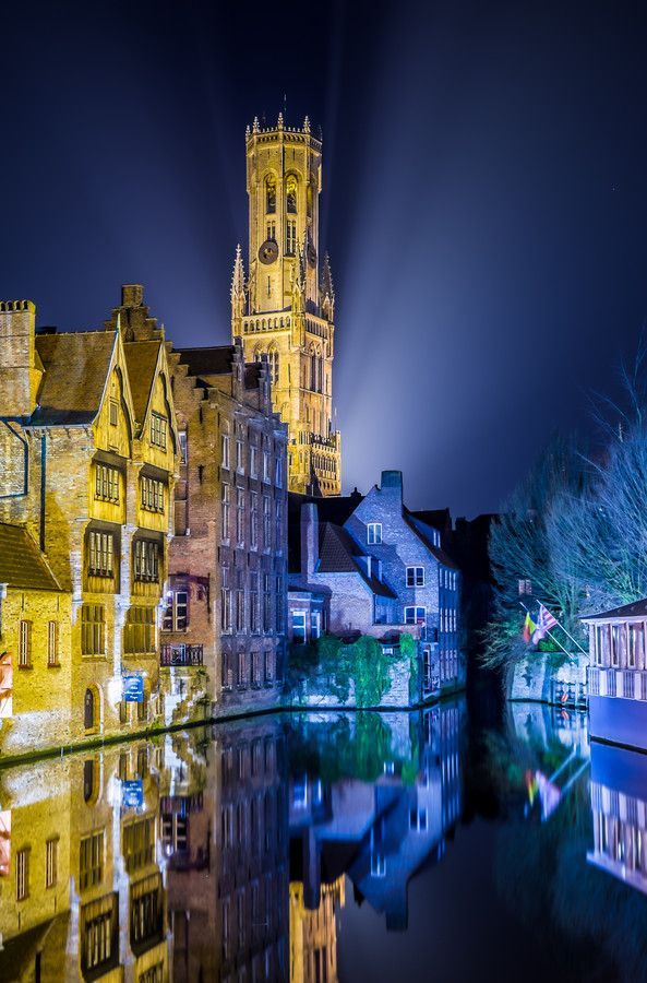 Canal reflections - Bruges, Belgium
