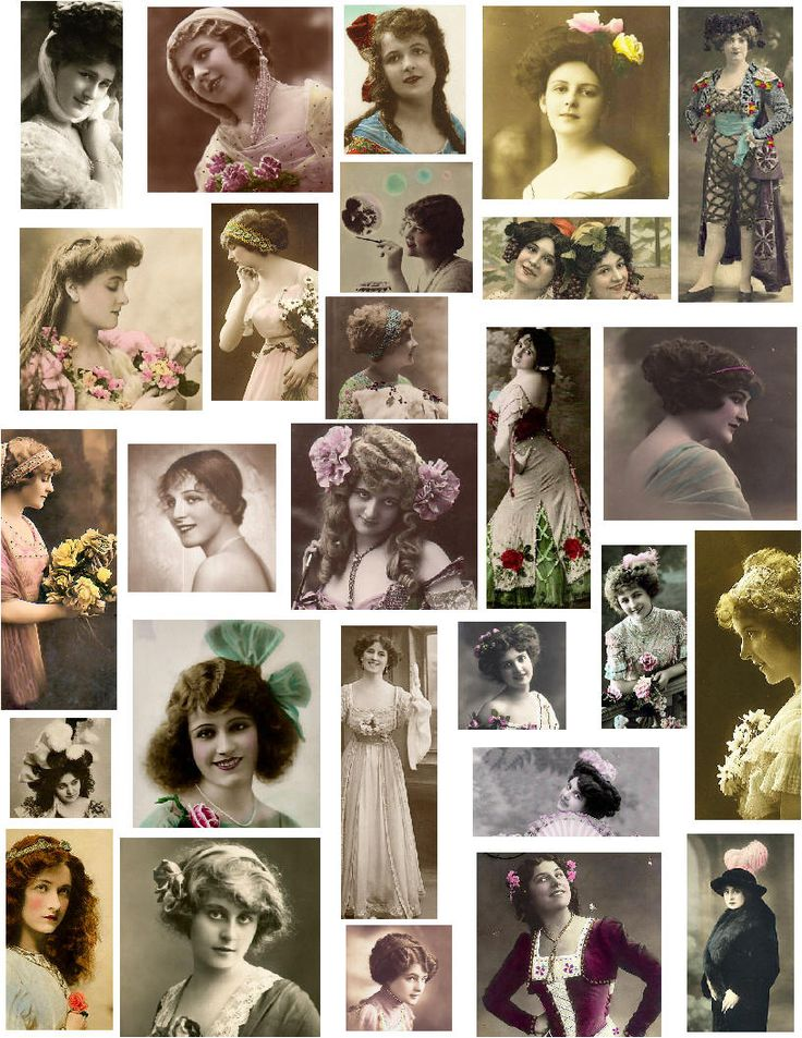 Hobbybloggen: Vintage Bilder