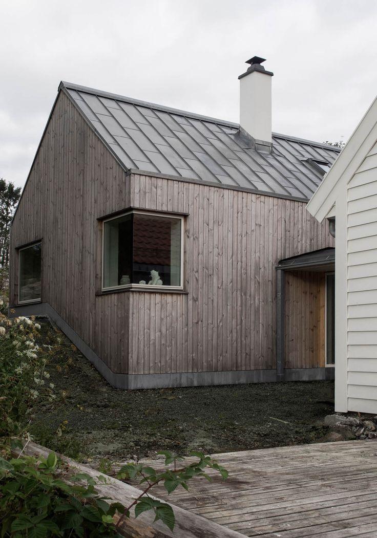OPAFORM | Prosjekt: Alvoen // malmfuru fasade og rheinzink tak