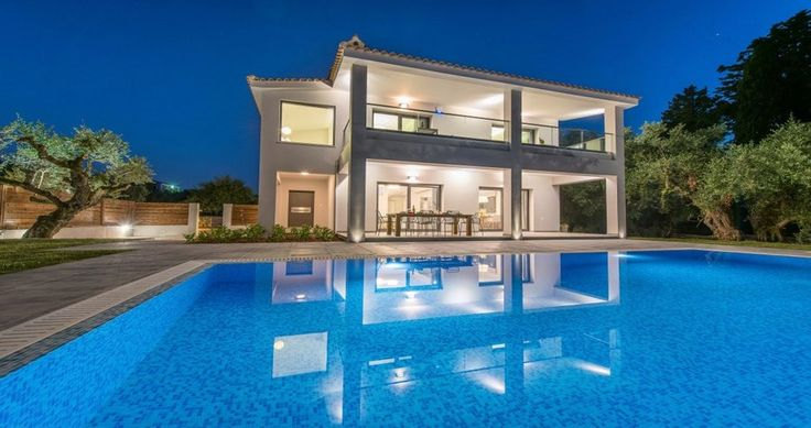 "Check Villa ""Athina"" - Zakynthos, Greece ! You can rent it ! #luxury #villa #rent #holidays #greece #vacances #grece #alouer #aroomwithaview #sea #bedroom #decoration #swimmingpool #beautiful #sunset #luxuryvilla"