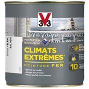 Peinture fer extérieur Climats extrêmes V33, blanc banquise, 0.5 l