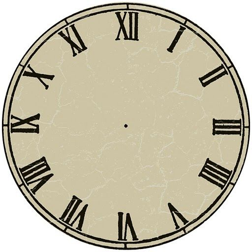 Best Clocks Printable Images On   Clock Faces Wall