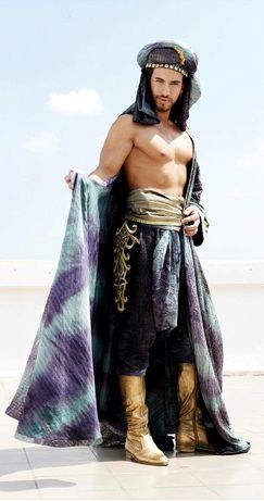 Arabian prince - old style fashion