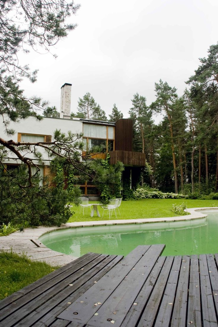 169 best images about casas ic nicas on pinterest building drawing farnsworth house and alvar for Alvar aalto swimming pool jyvaskyla
